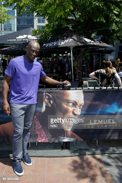 DIEGO 2017 'NBC at ComicCon' Pictured Peter Mensah at the 'Midnight Texas' activation at Tin Fish San Diego Calif