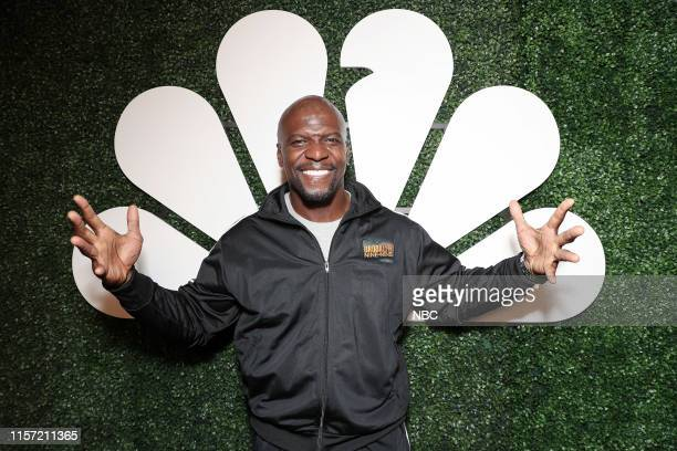 DIEGO 2019 NBC at ComicCon Pictured Terry Crews Brooklyn NineNine at NBC's Annual SDCC Party San Diego Calif