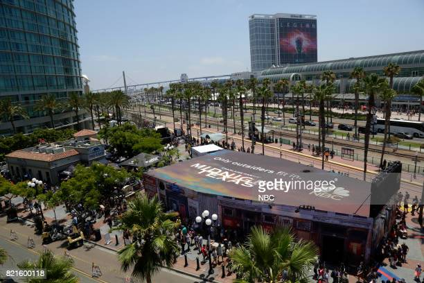 DIEGO 2017 ''NBC at ComicCon' Pictured The 'Midnight Texas' Activation at Tin Fish San Diego Calif