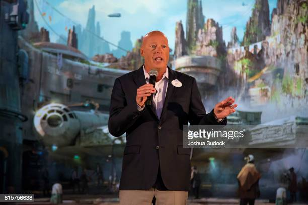 MODEL at D23 EXPO During a special preview of D23 Expo 2017 Walt Disney Parks and Resorts Chairman Bob Chapek welcomed invited guests as he unveiled...