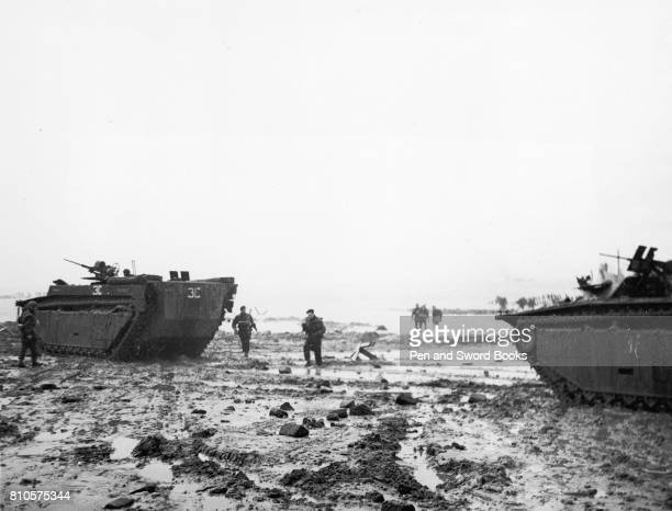 At dawn on November 1st British Commando troops invaded the island of Walcheren at the mouth of the Scheldt The attack was preceeded by heavy air sea...