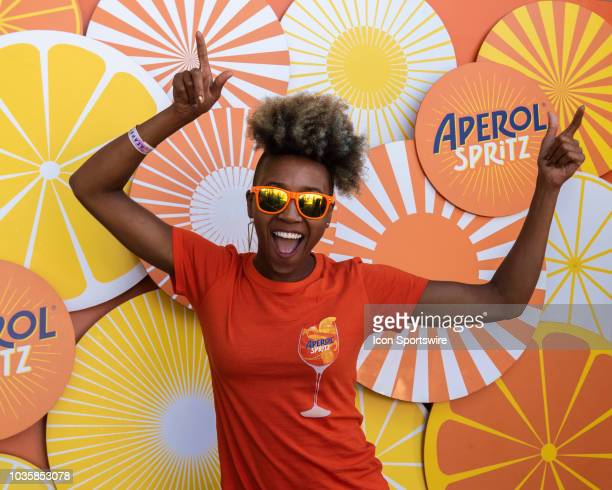 SPRITZ at Day 2 of the KAABOO Del Mar music festival on September 15 at the Del Mar Fair Grounds in Del Mar CA