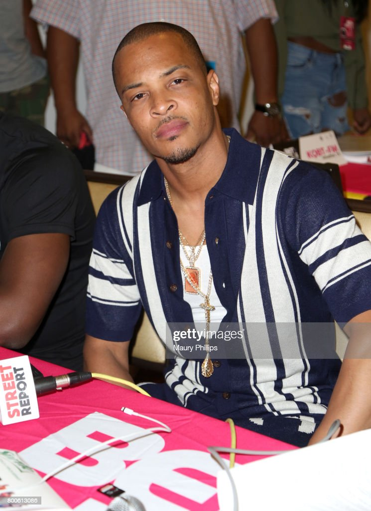 T.I. at day 2 of the Radio Broadcast Center, sponsored by Sprite, during the 2017 BET Awards at Microsoft Square on June 24, 2017 in Los Angeles, California.