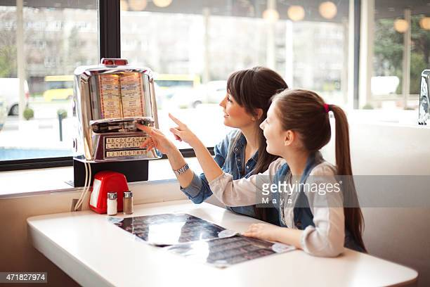 At diner restaurant