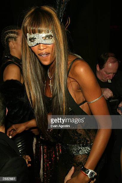 CAMPBELL at Dolce Gabbana's Halloween Party at Cipriani 42nd Street in New York City October 31 2002 Photo by Evan Agostini/ImageDirect