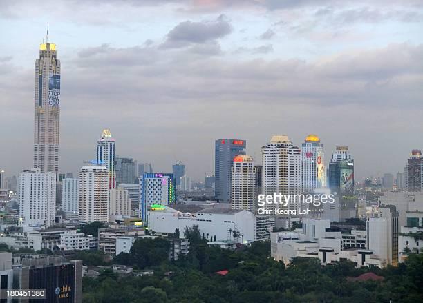 At Dusk: view from Mercure Hotel @ Bangkok, Thailand. **Explore 24 July 2013, #352.