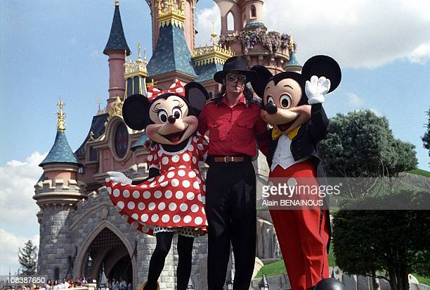 JACKSON at EURO DISNEYLAND in MarnelaVallee France on July 27 1992