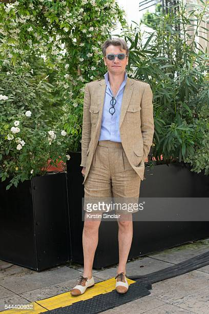 CEO at Evidens Charles Edouard Barthes on day 3 of Paris Collections Men on June 24 2016 in Paris France Charles Edouard Barthes