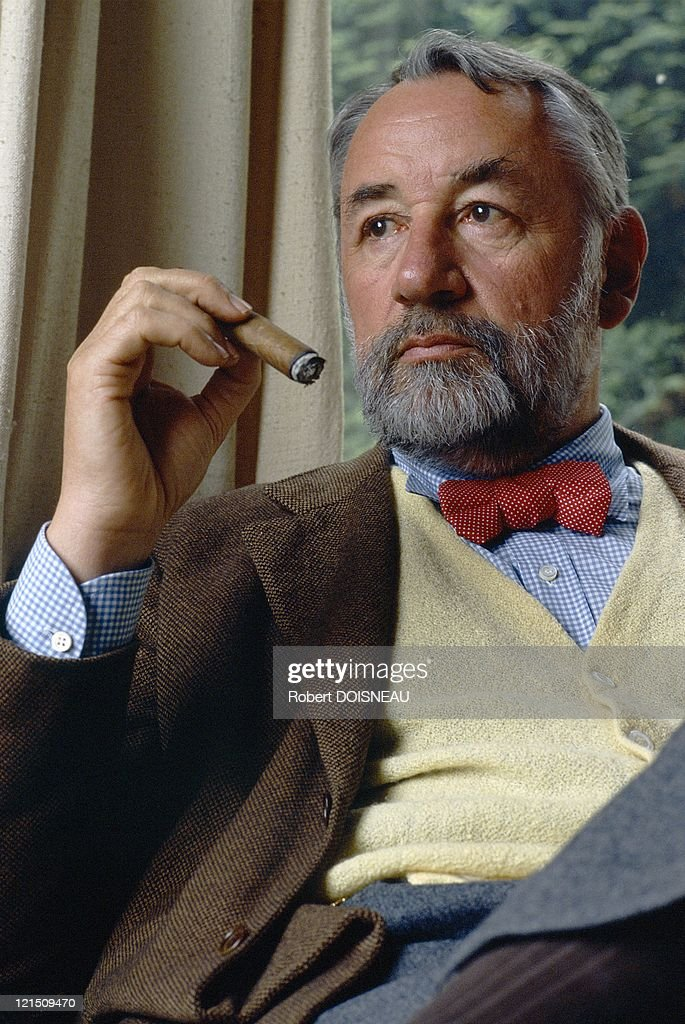 Philippe Noiret, French Actor, In 1989 : News Photo