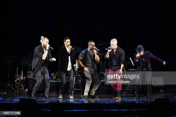 MO5AIC at Las Vegas's 8th annual NF Hope Concert A Benefit for Neurofibromatosis at the Palazzo Theatre at The Palazzo Las Vegas on October 21 2018...