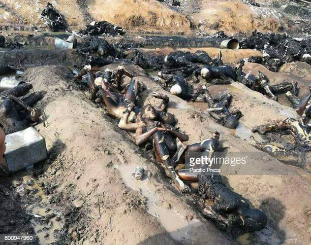 At least 146 people were killed and scores injured in a fire that broke out after an oil tanker overturned in Ahmad Pur Sharqia area of Bahawalpur...
