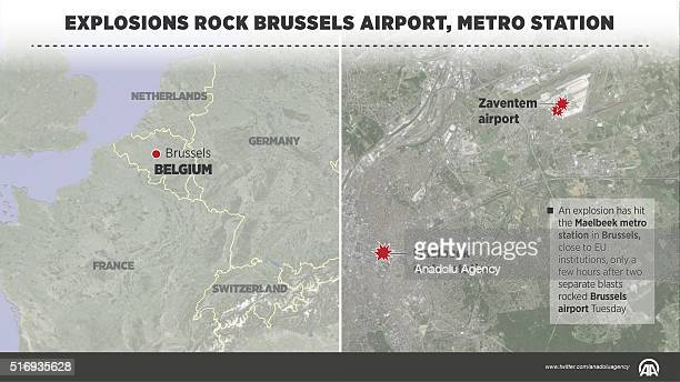 At least 28 people were killed and 90 others were injured in multiple explosions at an airport and a metro station in Brussels on Tuesday morning...