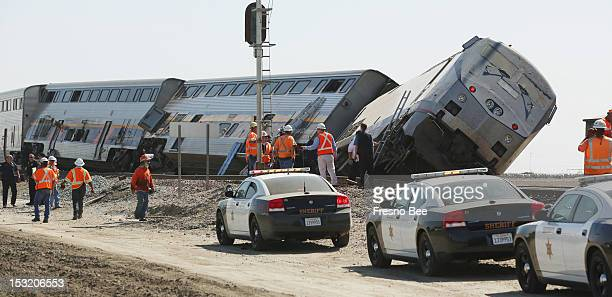 At least 42 passengers were taken to Valley hospitals Monday October 1 when a big rig truck collided with a southbound Amtrak train near Hanford...