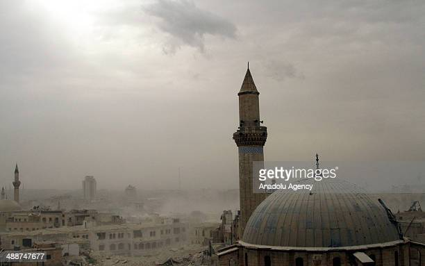 At least 50 Assad forces killed in a bomb attack by members of Islamic Front in target of Carlton Citadel Hotel Aleppo, headquarters Assad forces...