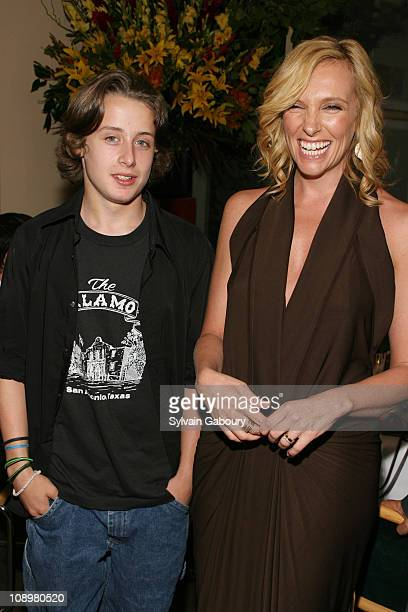 Rory Culkin and Toni Collette during Afterparty for the Premiere of Miramax Films' 'The Night Listener New York Inside Arrivals and Party Atmosphere...