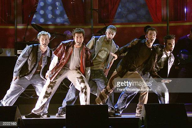NSYNC at MTV Movie Awards 2000 held at Sony Pictures Studio in Culver City CA on June 03 2000