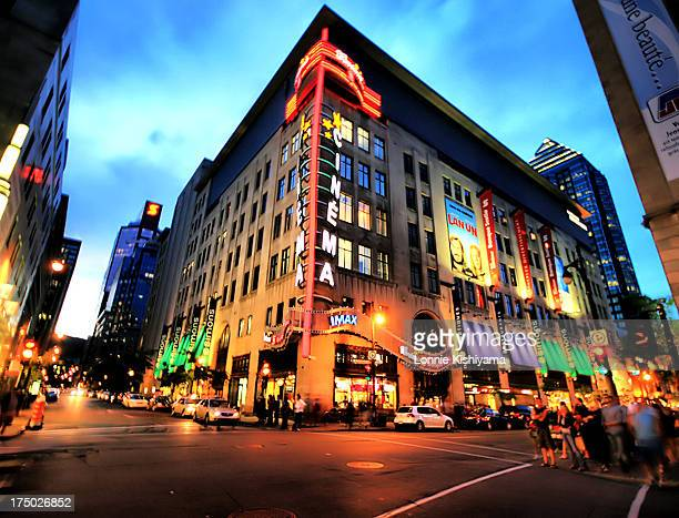 At night, Montreal, Canada, really lights up. The neon colors of the busy downtown create a colorful and festive atmosphere, especially when during...