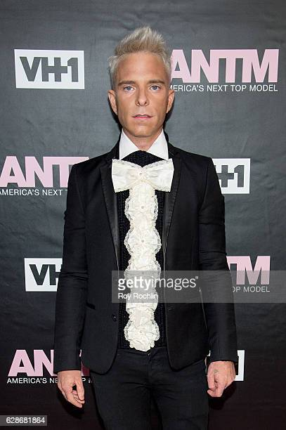 CCO at PAPER magazine and ANTM Judge Drew Elliott attends VH1's 'America's Next Top Model' Premiere at Vandal on December 8 2016 in New York City