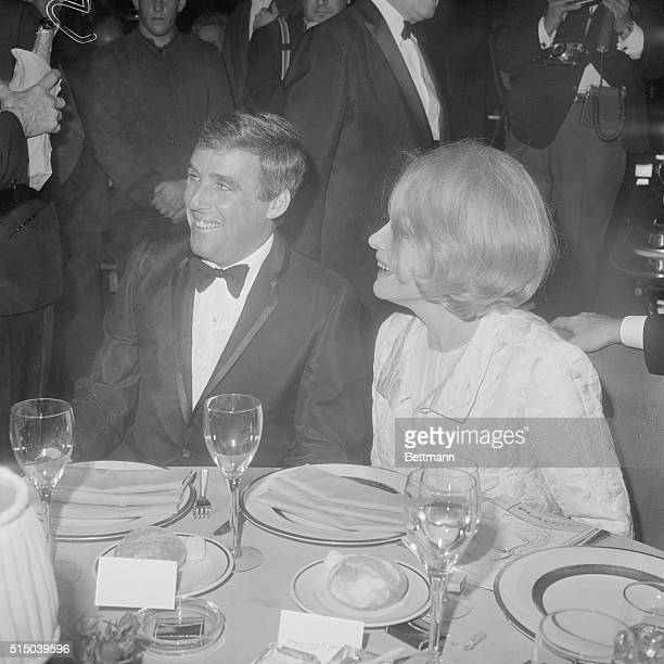 At Party in Her Honor New York New York Marlene Dietrich and her conductor arranger Burt Bacharach are all smiles at the party in her honor following...