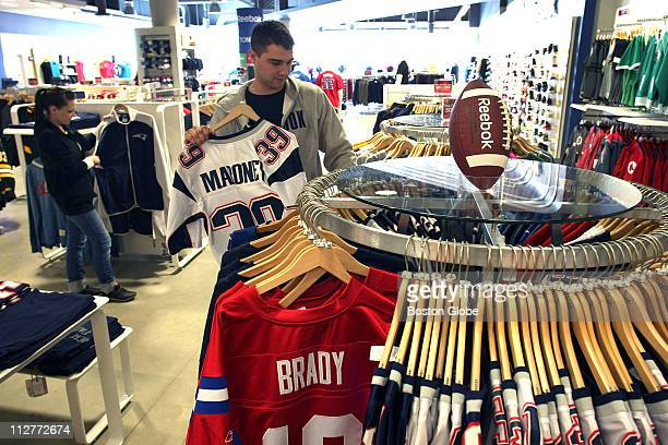 At Patriot Place next to Gillette Stadium the NFL lockout might be cause for concern for businesses hereAt the Reebok store managers Danielle Weedon...