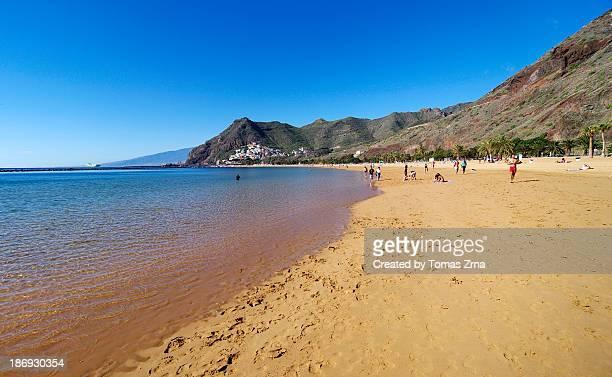 At Playa de las Teresitas