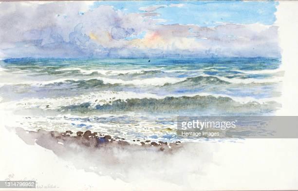 At Pwllheli, N. Wales, ca. 1899. Artist George Elbert Burr.