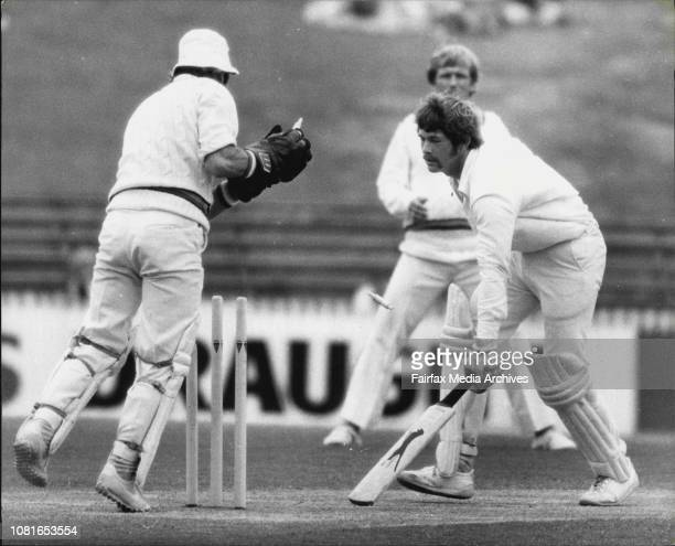 MCC at SCGAttempted stumping of S Rixon off Miller when 10 November 19 1978