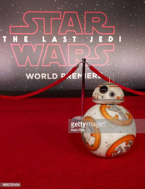 BB8 at Star Wars The Last Jedi Premiere at The Shrine Auditorium on December 9 2017 in Los Angeles California