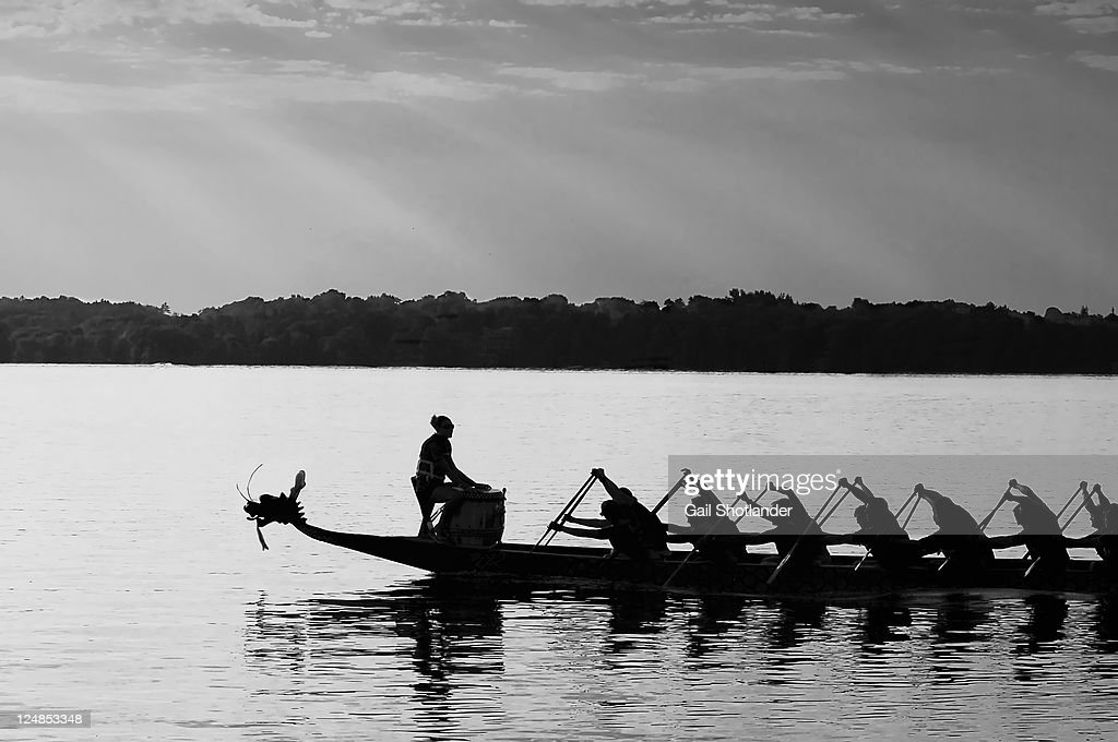 At stroke of dawn : Stock Photo
