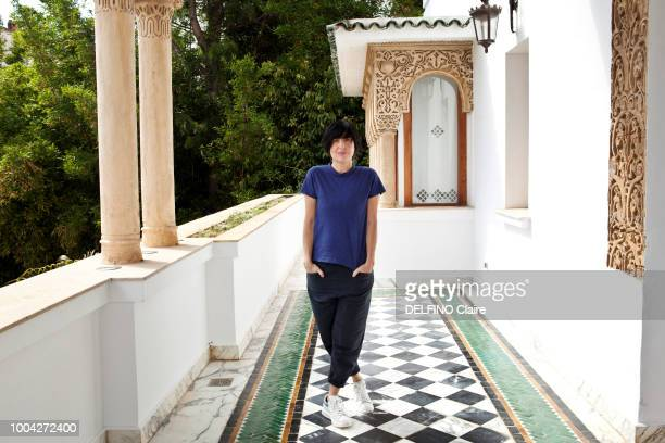at the 17th Mawazine Music Festival 2018 in Rabat Morocco the Group Texas with Sharleen Spiteri is photographed for Paris Match on a terrace on June...