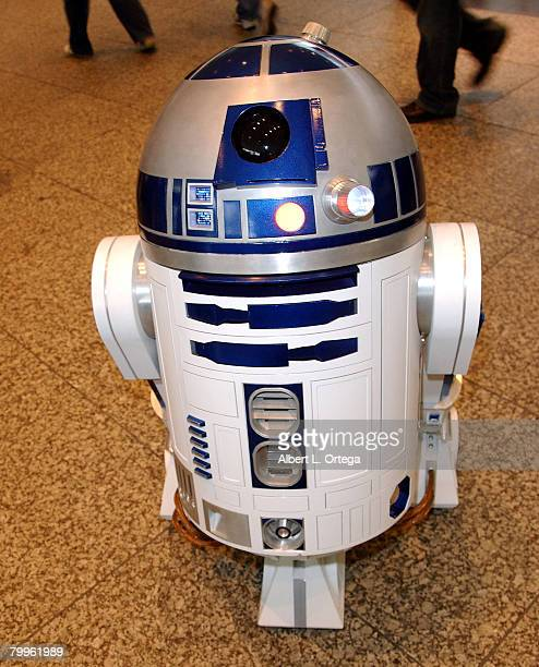R2D2 at the 2008 Wonder Con day 2 at the Moscone Center South on February 23 2008 in San Francisco California USA