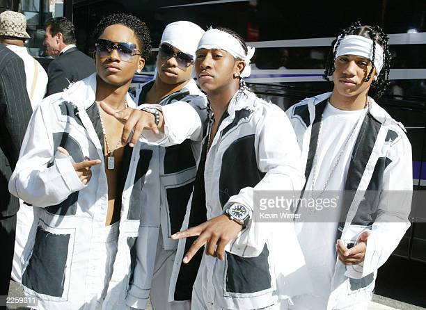 B2K at the 2nd Annual BET Awards at the Kodak Theatre in Hollywood Ca Tuesday June 25 2002 Photo by Kevin Winter/ImageDirect