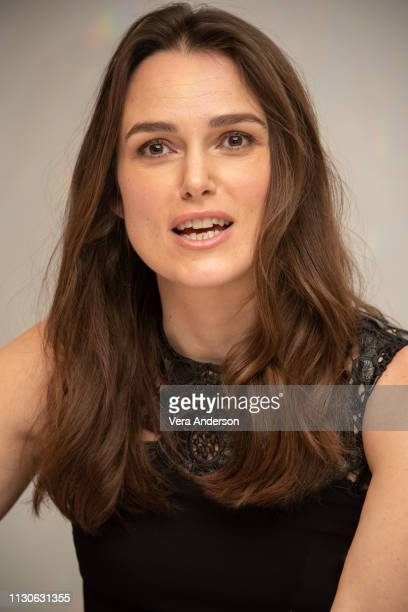 at 'The Aftermath' Press Conference at Dorchester Hotel on February 18 2019 in London England