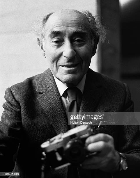 At the age of 87 Alfred Eisenstaedt, the German-born American photojournalist, opens a retrospective exhibition of his work at the National Theatre's...
