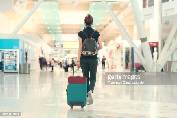 at the airport - airport stock pictures, royalty-free photos & images