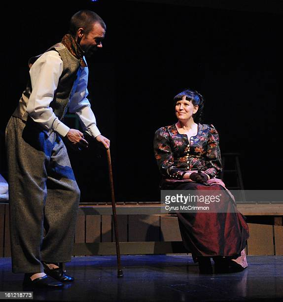At the Aurora Fox Theater they held a dress rehearsal for the PHAMALY production of The Elephant Man Cast members include Daniel Traylor as John...