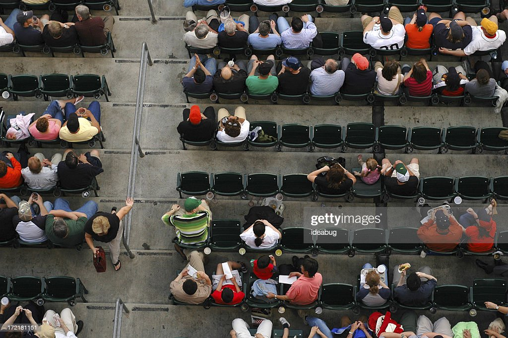 At The Ballgame : Stock Photo