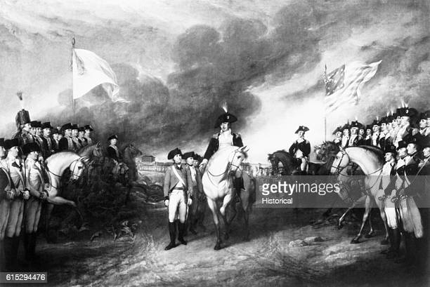 At the Battle of Yorktown in Virginia in 1781 British General Cornwallis lost the decisive battle that ended the American Revolution