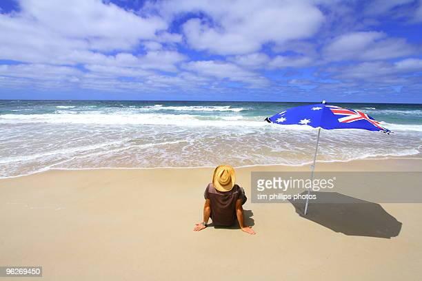 At the beach Australia