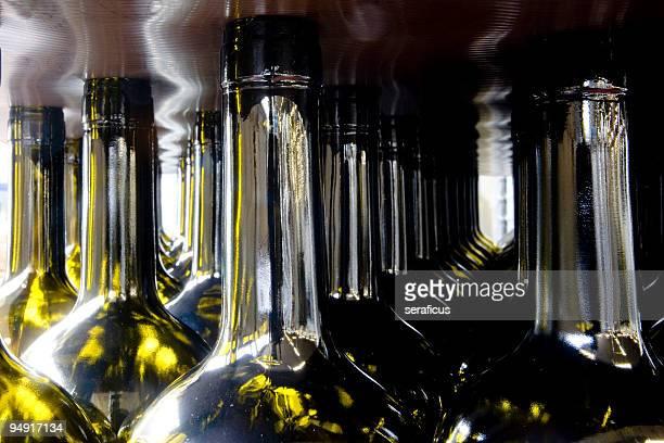 At the bottling plant