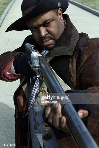 At the Bunker Hill monument Bruce R Harris is dressed as Peter Salem one of a handful of AfricanAmerican minutemen Salem fought in the Battle of...