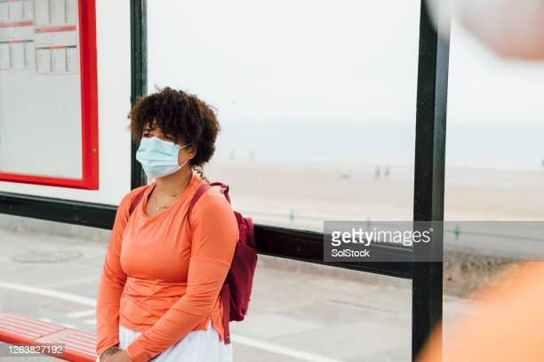 at the bus stop - sunderland stock pictures, royalty-free photos & images