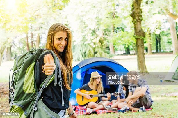 Au Camping avec vos amis