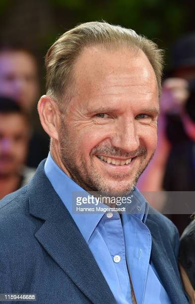 At the CineMerit Gala for Ralph Fiennes during the Munich Film Festival at Gasteig on July 01, 2019 in Munich, Germany. British actor and director...