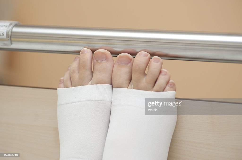 at the clinic - thrombosis : Stock Photo