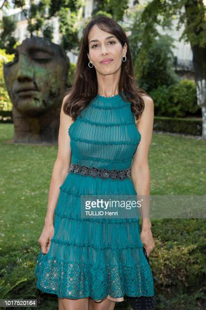 at the cocktail party for the first collaboration between the jeweler Nadja Swarovski and the actress Penelope Cruz in the restaurant Apicius Dolores...