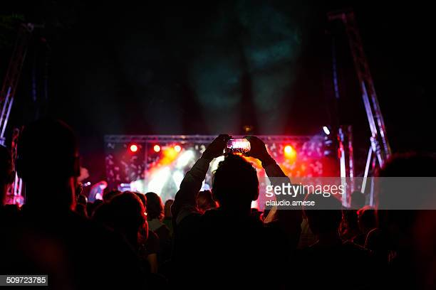 At the Concert. Color Image