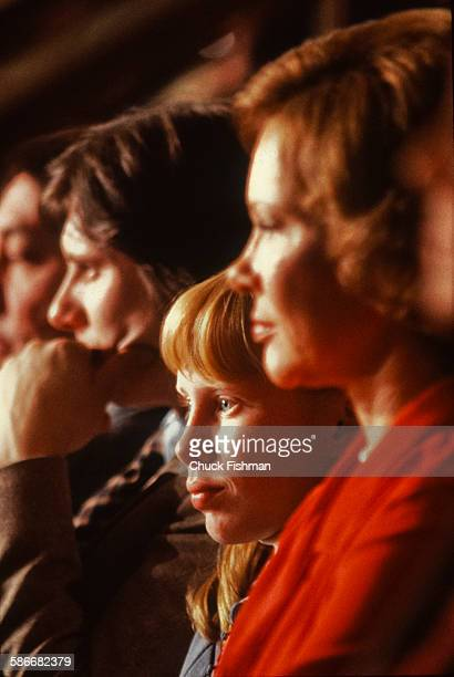 At the Democratic National Convention Amy Carter and her mother First Lady Rosalynn Carter and brother James Earl 'Chip' Carter III New York New York...