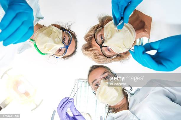 at the dentist - dental fear stock pictures, royalty-free photos & images