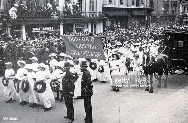 At the Derby in June 1913 a Suffragette called Emily Davison threw herself in front of the King's horse at Tattenham Corner and died from the...